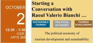 Starting a Conversation with Raoul Valerio Bianchi – Oct. 2